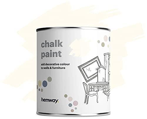Hemway Peinture à la chaux blanc cassé finition mate pour...