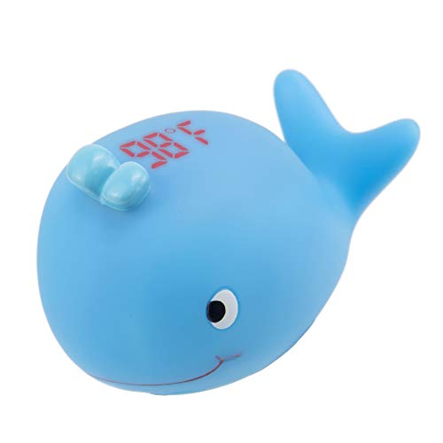 MotherMed Baby Bath Thermometer and Floating Whale Bath Toy Bathtub and Swimming Pool Thermometer Water Temperature Indicator Fast Accurate Result Within 2 Seconds Only for Fahrenheit