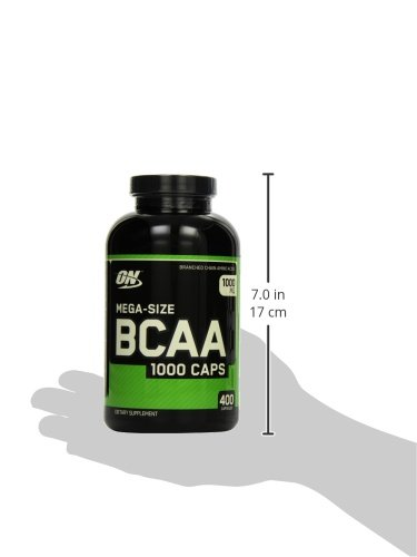 Optimum Nutrition BCAA 1000- 400 Kapseln , 1er Pack (1 x 400 g) - 6