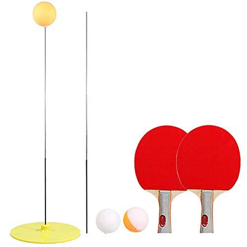 Heqianqian Ping Pong Raquetas y pelotas de ping pong de los murciélagos de tenis de mesa