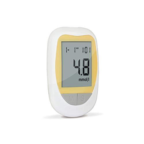 CZWNB Blood Glucose Meter, Sangre Glucose Monitor Ayuda de Salud Glucómetro Tiras de Prueba LANCETS Kit Kit Meter DE AZÚCAR DIABÉTICO Diabetes Tester
