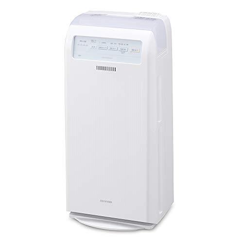 アイリスオーヤマ 加湿 空気清浄機 17畳 脱臭 ホコリ 花粉 加熱式 ホワイト HXF-C40-W