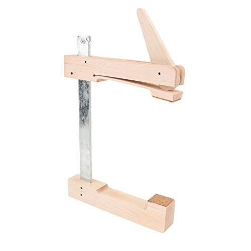 SDENSHI Ahorn Violine Cello Edge Clamp für Violine /Viola /Gitarre /Cello und Kontrabass Repair Luthier Tool - wie beschrieben, 147mm