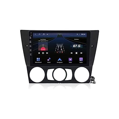 para BMW Serie 3 E90/E91/E92/E93 2005-2013 Unidad Principal Audio Estéreo Radio de Coche Navegación Reproductor MP5 Receptor de Radio FM Soporte Manos Libres Multimedia Bluetooth WiFi