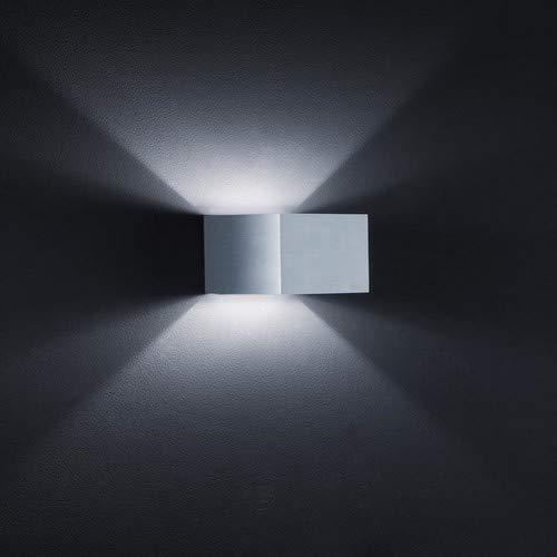 Wandleuchte 1-flammig Siri Farbe: Aluminium matt