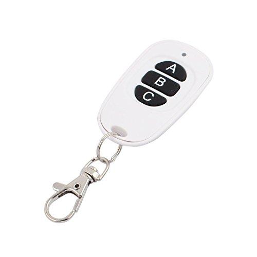 Aexit 433Mhz Wasserdichte, weiße, drahtlose FernbedienungSteuerung 3 Schlüssel für elektrische Tür (29761490e2b26e9dcdd46abb1142803c)