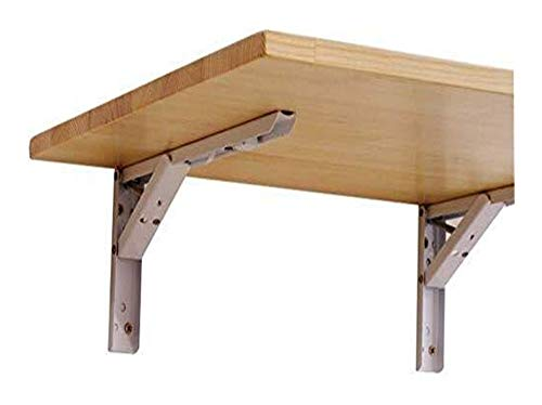 Colgando Tabla pared plegable Tabla Inicio Mesa de desayuno de madera maciza...