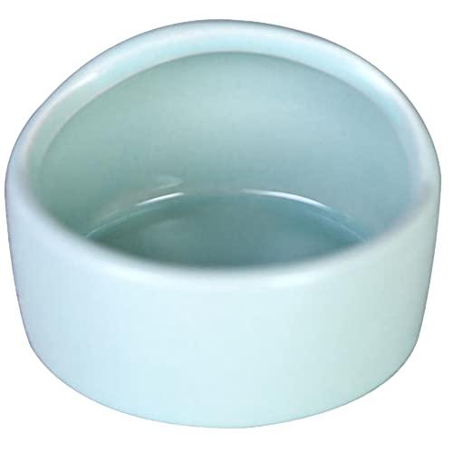 ハムスター 餌入れ えさ皿 小動物 ペット 陶器 セラミック モルモット モモンガ ブルー