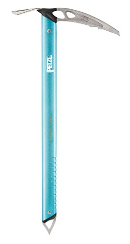 Petzl Erwachsene Glacier Literide Eispickel Blau 50cm