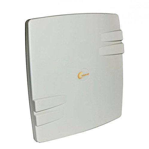 ALLNET Flat-Patch Antennentechnik 385Type-n 15dBi Antenne–Antennen (15dBi, 5,15–5.85, 50Ohm, Type-n, Double-polarisation, 2: 1)