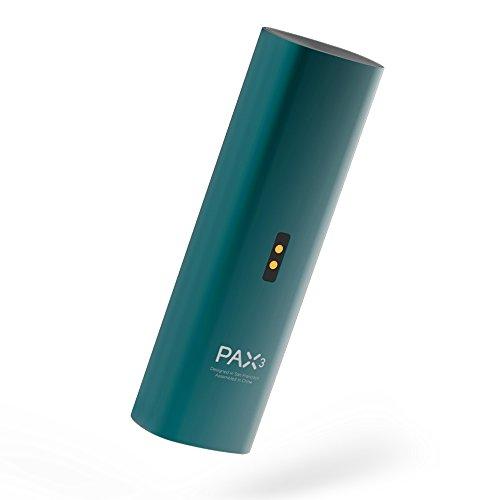 PAX 3 Premium tragbarer Vaporizer trockene Kräuter Konzentrate und öle 10 Jahre Garantie Komplett Set Blau