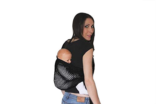 Amarsupiel mesh Ring Sling Baby Carrier