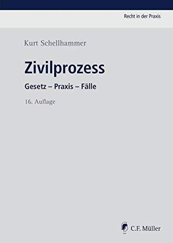 Zivilprozess: Gesetz - Praxis - Fälle (Recht in der Praxis)
