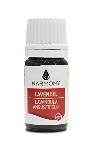 Ätherisches Öl Bio Lavendel aus Frankreich | 100% naturreines Lavendelöl | Kosmetikum für DIY Kosmetik | zur Raumbeduftung und Aroma Diffuser