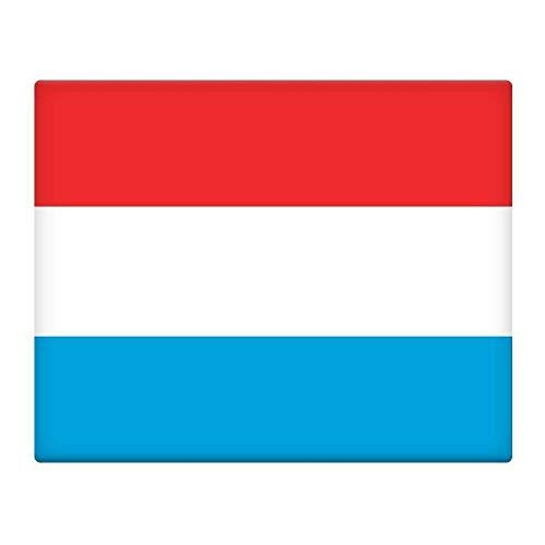 Luxemburg Vlag 16X12