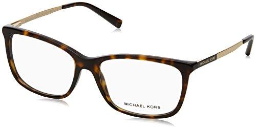 Michael Kors Damen 0MK4030 Sonnenbrille, Dark Tortoise, 54