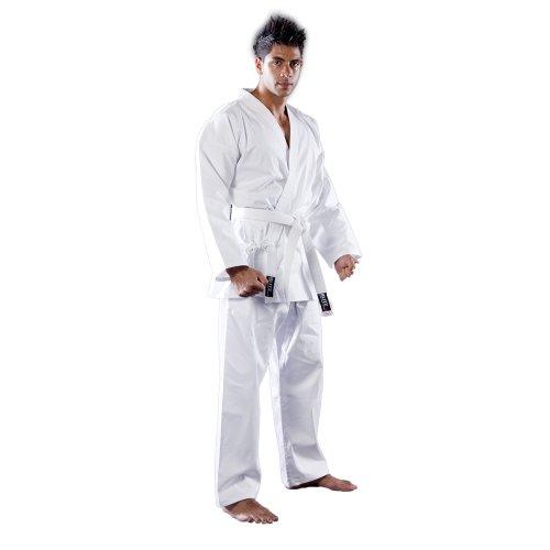 Blitz Sport-Kimono de kárate para Adulto algodón, Color marrón Mixte Talla:3/160cm