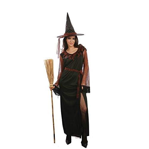 Ciao-Costume Strega delle Tenebre, taglia unica adulto Donna, Nero, 62122
