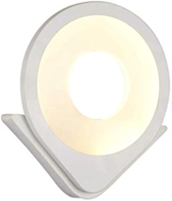 Aussenlampe Wandbeleuchtung Wandlampe Wandleuchte Innen 28.5X24.5Cm Moderne Weie Wandleuchte In Form Einer Trophe, Led Acryl
