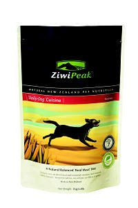 【ZiwiPeak(ジーウィーピーク)】犬用 デイリードッグ・クィジーン・パウチ 1Kg ベニソン(鹿肉)20195470-005