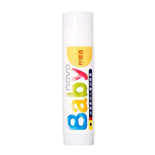 Kapian Baby Lips Lippenbalsam Natural Baby Smooth Feuchtigkeitsspendende Lippenbalsam Anticracking Lips Cream Lip Balm, Lip Booster, Lip Enhancer Pflegebalsam Lippenpflege für Trockene Lippen