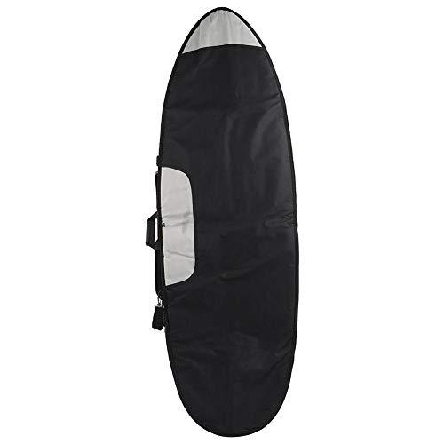 NATRUSS Bolsa de Tabla de Surf, Bolsa de Tabla de Surf Corta portátil, Funda de calcetín de Tabla de Surf para Tabla de Surf al Aire Libre, Tabla de Surf Corta(6.0)