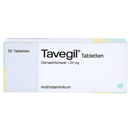 Tavegil Tabletten Antihistaminikum, 50 St. Tabletten