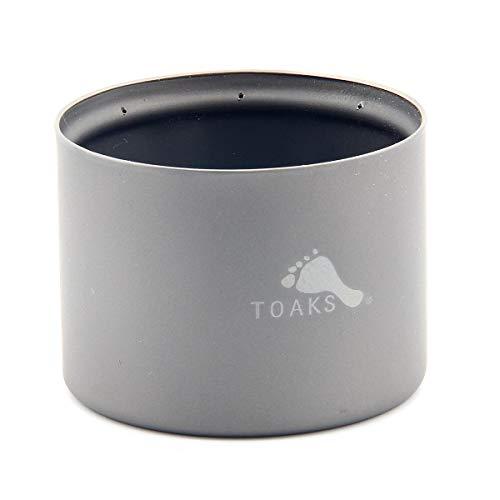 TOAKS (トークス) チタンアルコールストーブ ポットスタンド プレート 20g軽量 携帯便利 アウトドア/キャンプ//バーベキュー/登山 (アルコールストーブ)