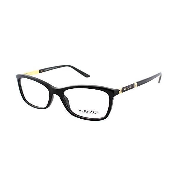 Versace VE3186 Eyeglass Frames GB1-54 – Black VE3186-GB1-54