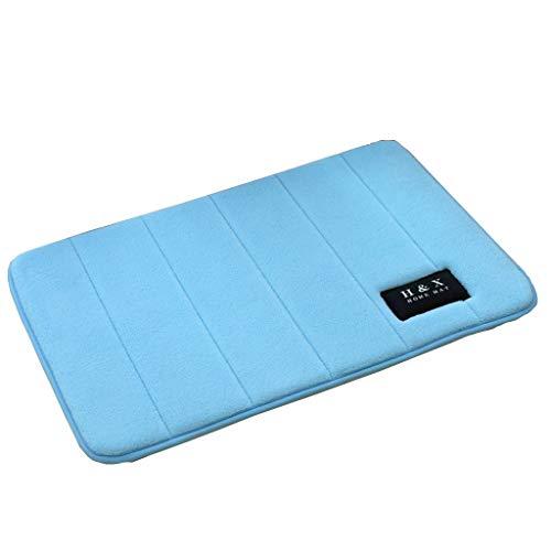 Amazing Deal CarPet Bathroom Bedroom Memory mat 40cm60cm (Color : Blue)
