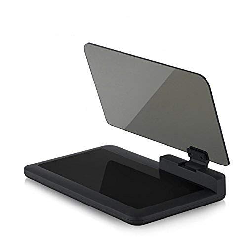 ZRK Auto-Head-up-Anzeige HUD reflektierende Handy-Handy-Navigations-Halterung kann um 180 ° Einstellung Handy-Sitze-reflektierende Folie