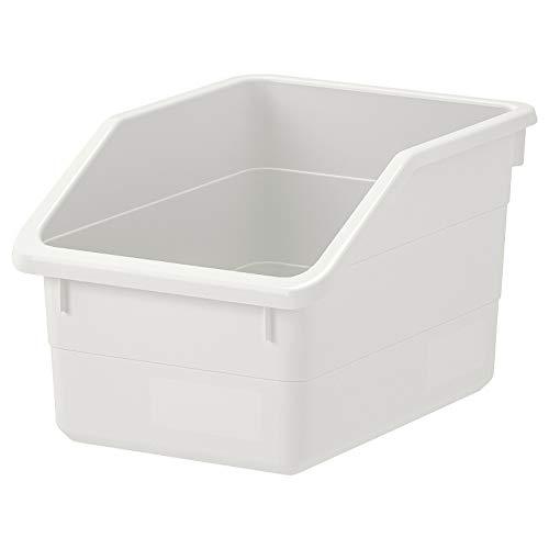 IKEA SOCKERBIT - Caja de almacenamiento para hilo (19 x 26 x 15 cm, A82), color blanco