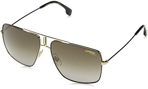 Carrera Unisex-Erwachsene 1006/S Sonnenbrille, Mehrfarbig (BLK Gold), 60