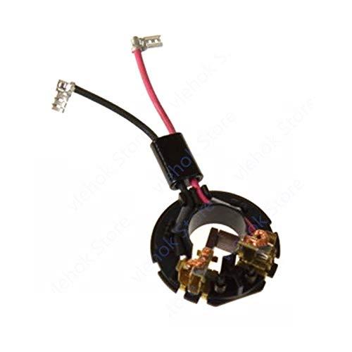 Corolado Piezas de repuesto, Soporte de cepillo de carbono para MAKITA DHP482RME...
