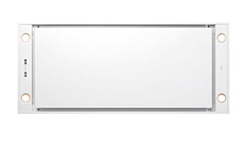 Novy Deckenhaube Pureline 120cm weiß mit LED 6841