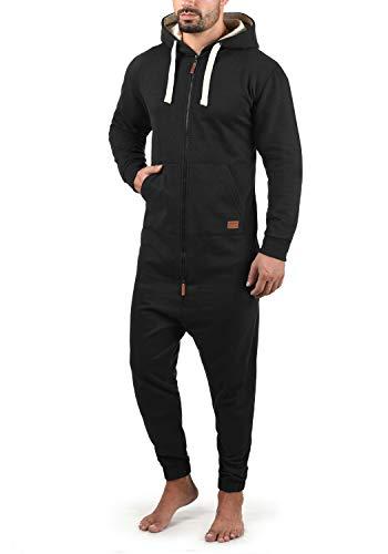 Blend Salinho Herren Overall Jumpsuit Mit Kapuze, Größe:L, Farbe:Black (70155)