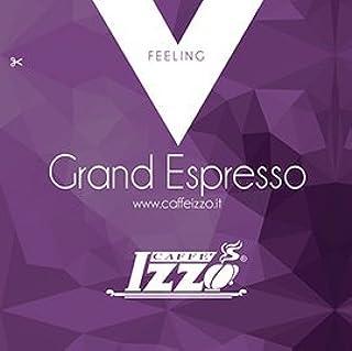 Caffe' IZZO Grand Espresso Feeling Line - Espresso Paper Pods - ESE Espresso Pods 100 Count Box