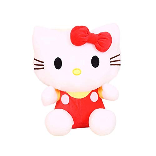 letaowl Plüschtiere 20cm Niedlich Hello Kitty Katze Plüschtier Schöne Kuscheltier Puppe Kissen Kinder Spielzeug Freundin Baby Geburtstagsgeschenk Gute Qualität