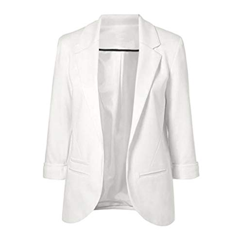 Moda mujer estilo OL Blazer manga larga elegante traje