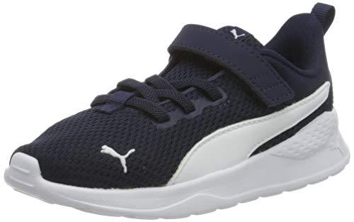 PUMA Unisex Baby Anzarun Lite Ac Inf Sneaker, Blau (Peacoat White), 22 EU