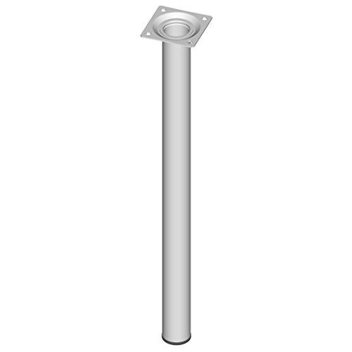Element System 11100-00057 Pie para muebles, blanco, 50 cm