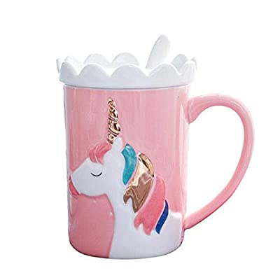 Unicorn In 3D To Go Mug With Handle