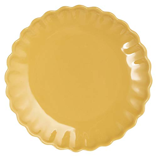 IB Laursen MYNTE Kuchenteller Gelb Keramik Teller 21 cm Mustard Geschirr