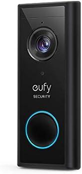 Eufy Security Wireless Add-on Video Doorbell w/2K Resolution