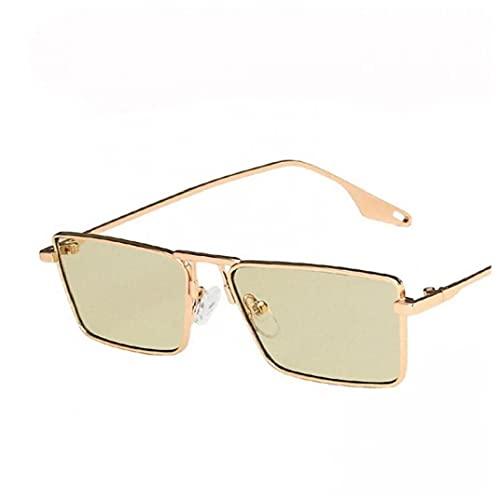 PiniceCore Vintage Estrecho Pequeño Gafas De Mujeres Marco De Metal Vidrios Rectángulo De Manejo para Gafas De Pesca Gafas De Pesca Hombres