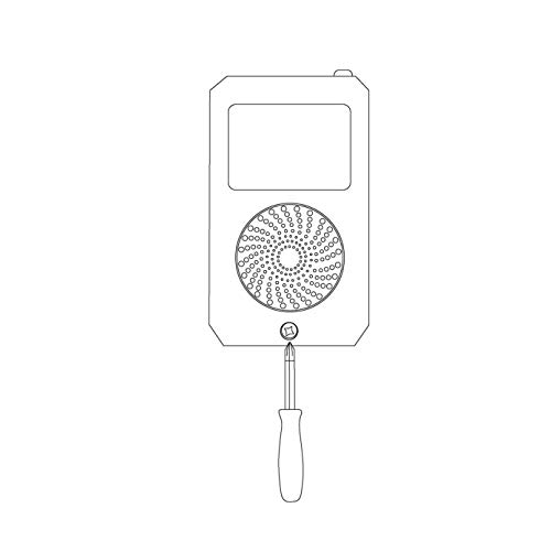 Safeguard Supply ERA-Door Announcer Simple To Use Entrance Chime Door Bell For Business Where The Door Chimes When Door…