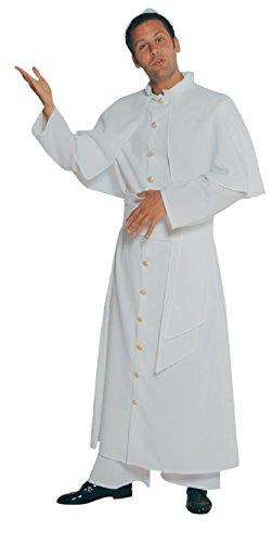 M203203-50 Papst - Disfraz para hombre (talla 50), color blanco