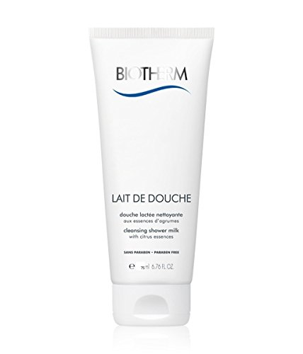 Biotherm Lait De Douche cleansing shower milk Inhalt: 75ml - Ideal für die Reise. Duschmilch