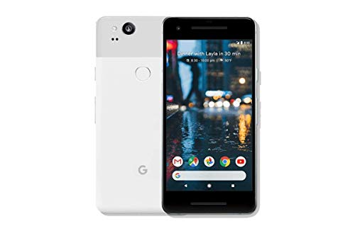 Google Pixel 2 64GB 5in 12MP SIM-Free Smartphone in Clearly White (Renewed)