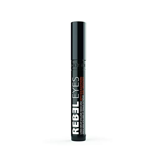 Gosh Copenhagen Rebel Eyes, Máscara (Black) - 1 unidad